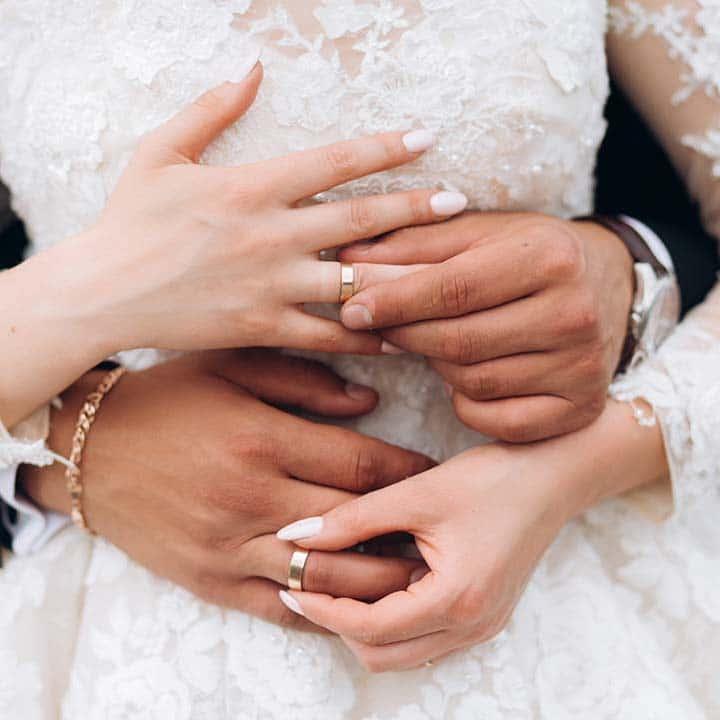 Mariés photo banques d'images