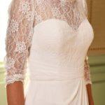 Photo robe Vennis détail bustier Lya Création