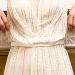 Photo robe de cocktail La Robe de mariée détail buste Lya Création