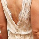 Photo Robe de cocktail La Robe de mariée détail dos Lya Création