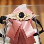 Nœud Lavallière avec bijoux Lya Création