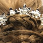 Bijoux de cheveux fleurs et perles Lya Création