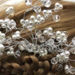 Bijoux de cheveux branche bourgeons Lya Création